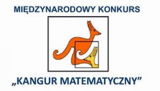 """Obrazek newsa WYNIKI KONKURSU MATEMATYCZNEGO """"KANGUR""""!"""